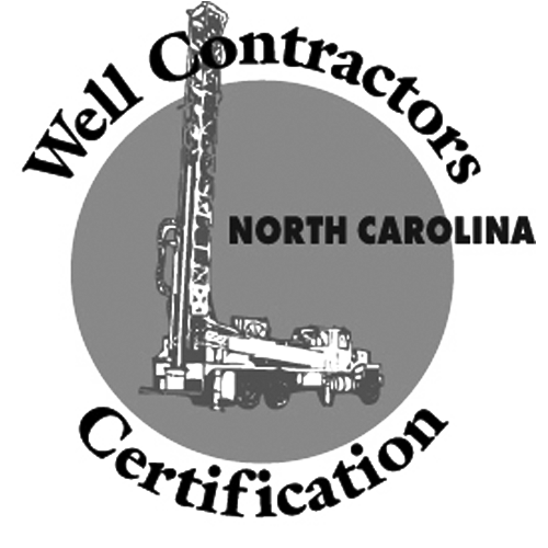 North Carolina Well Contractors Certification