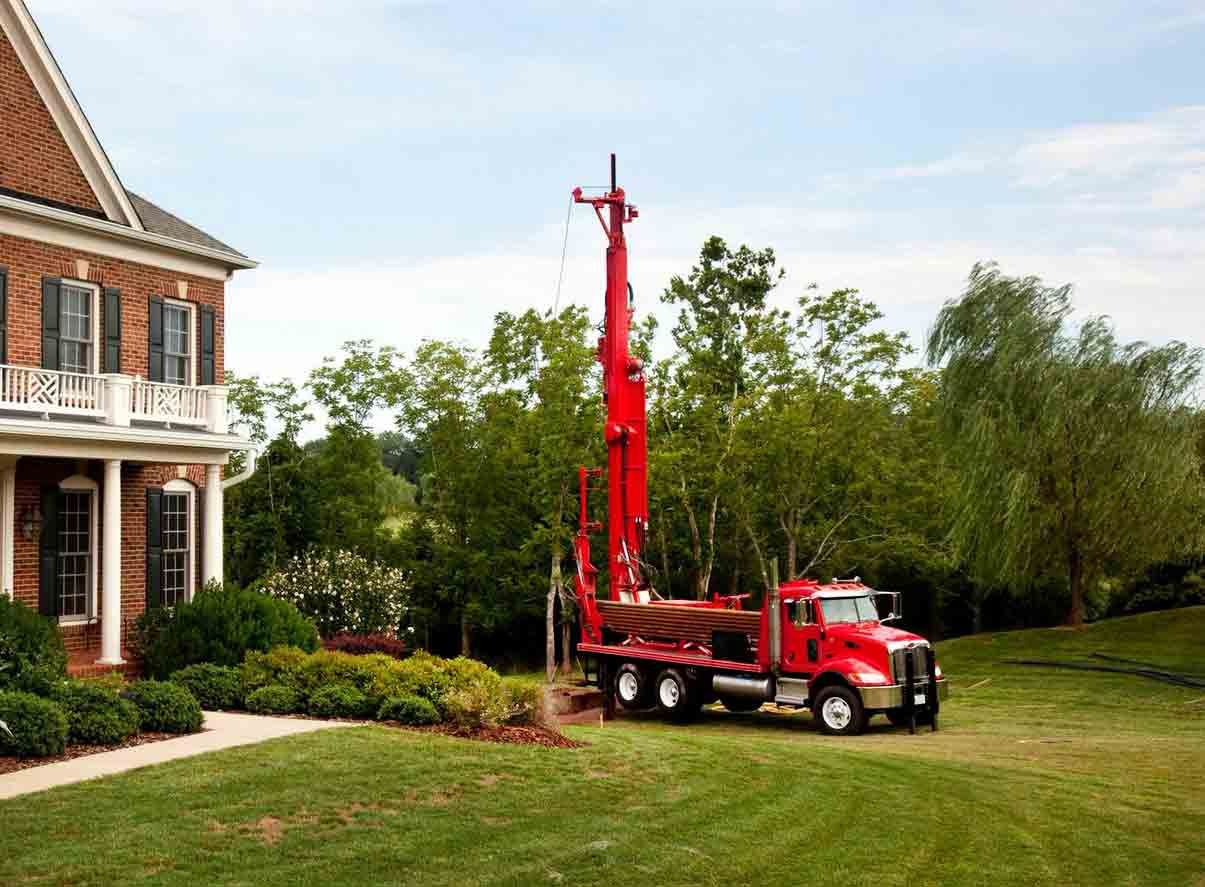 residential water well drilling